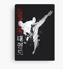 Taekwondo Canvas Print