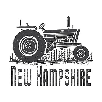 New Hampshire Vintage Tractor by peanutroaster