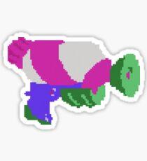 Splatoon 8-Bit Splattershot  Sticker
