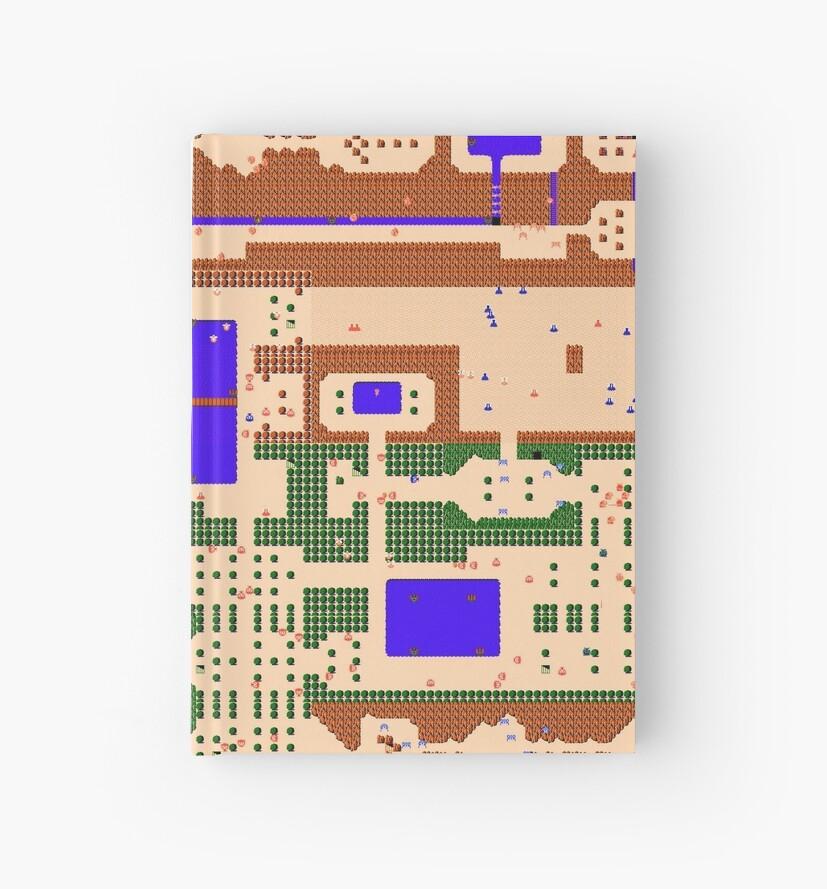 Legend of Zelda: NES Overworld Map\
