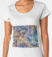 Bright color abstract background-2 Women's Premium T-Shirt