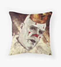 Eyes of Kindness Throw Pillow