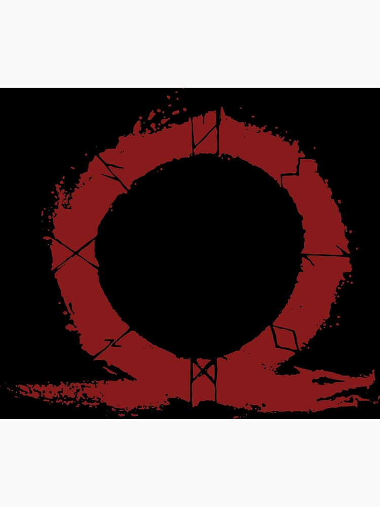 """God of War - Vector Logo"" Metal Print by firedragon04 ..."