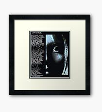 Invisible... Framed Print