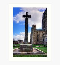 Light Infantry Memorial Cross Art Print