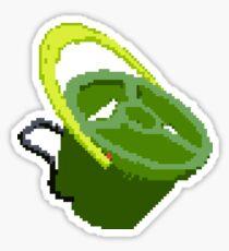 Splatoon 8-Bit Tri-Slosher Sticker