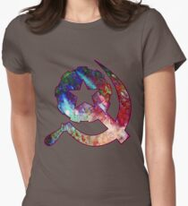Sickle & Mace Womens Fitted T-Shirt