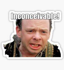 Inconceivable Sticker