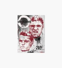 Nate and Nick Diaz Brothers Brotherhood Ufc Fighters Art Board
