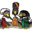 Rasta Birds by LionTuff79