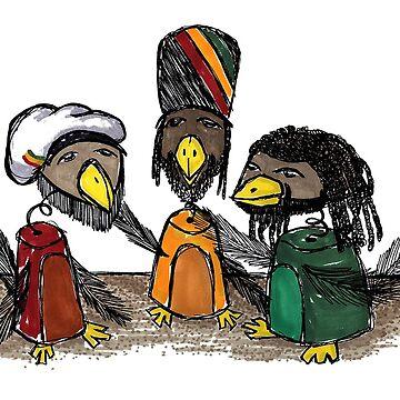Rasta Birds by LionTuff79