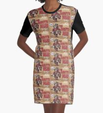 Join The Brute Squad Today! Graphic T-Shirt Dress