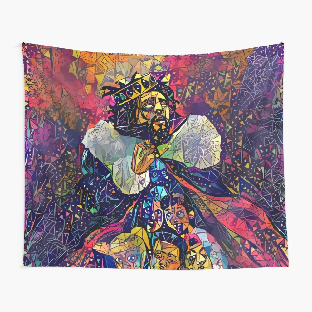 Abstract KOD Wall Tapestry