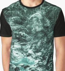 Pale Forest Stream Graphic T-Shirt