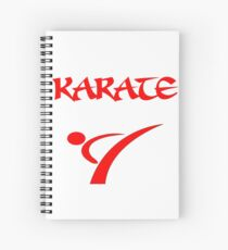 Karate T Shirts, Mugs and Gifts Spiral Notebook