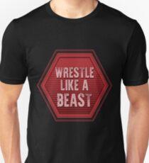 d9e0dea43 Wrestle Like a Beast | wrestling shirt | wrestling gifts | wrestling player  t-shirt | wrestling women | wrestling coach | wrestling coach gift |  wrestling ...