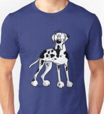 Great Dane Cartoon Unisex T-Shirt