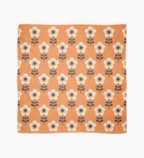 Retro Blossom - Orange and Cream Scarf