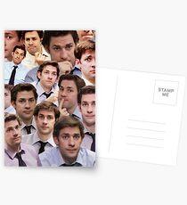 Jim Makes The Face Postcards