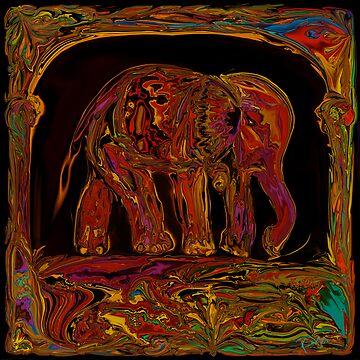 Elephant by rabikhan