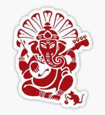 Ganesh plugged in - Large! Sticker