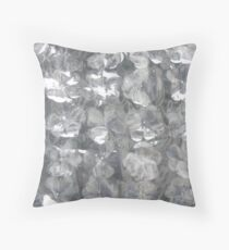 """Field of Plastic Dreams"" Throw Pillow"