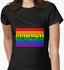 Gay Brunch Women's Fitted T-Shirt