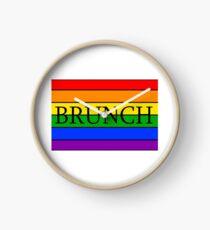 Gay Brunch Clock