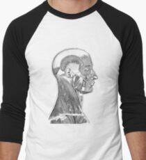 Kopf-Hals-Muskelsystem - einfaches Diagramm Baseballshirt mit 3/4-Arm