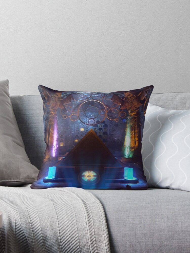 'Der Eisendrache - Bows' Throw Pillow by VoidyBow