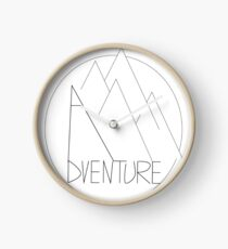 Adventure is Out There Clock