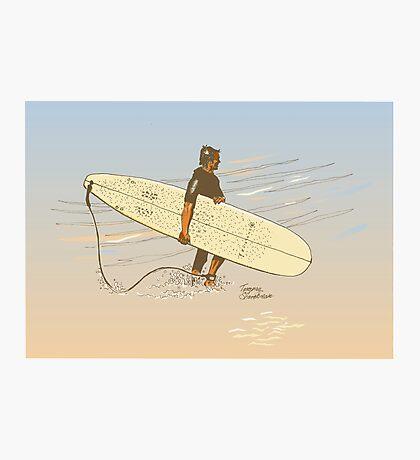 Torquay shorebreak Photographic Print