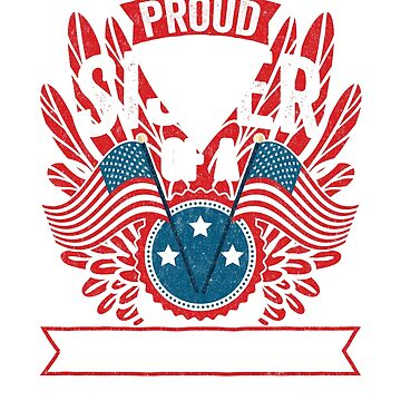 Proud Sister of a Strong Hispanic Veteran Shirt and Gifts by nvdesign