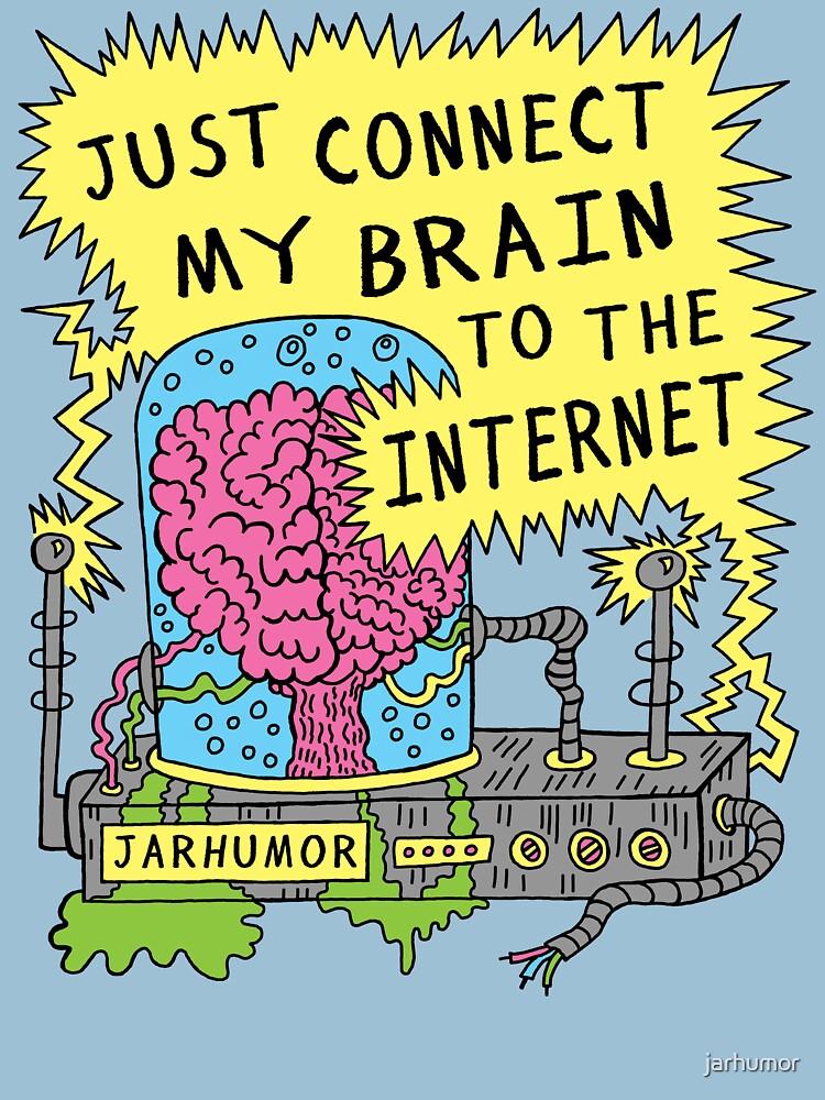 Internet Brain by jarhumor