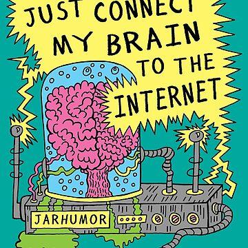 Internet Gehirn von jarhumor