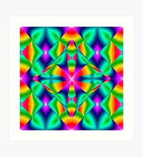 Lámina artística Abstract Meditation B