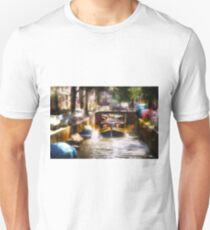 Amsterdam, Holland • Canal Bridge Unisex T-Shirt