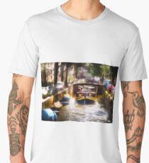 Amsterdam, Holland • Canal Bridge Men's Premium T-Shirt