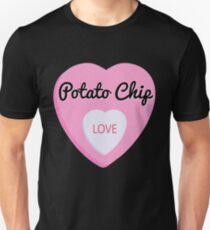 Potato Chips Love Valentine's Day Hearts  Unisex T-Shirt