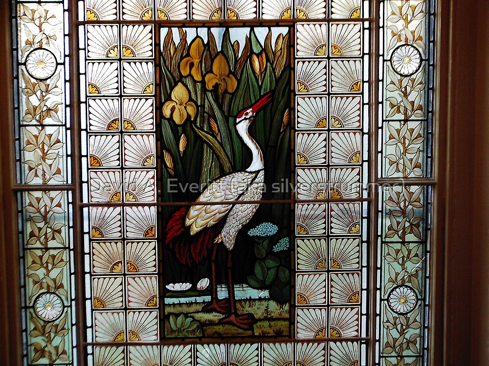Stained Glass Window - 01 by David A. Everitt (aka silverstrummer)