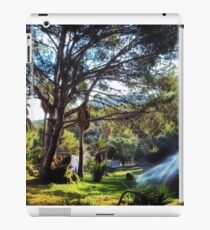 welcome to the world rich surrealism landscape iPad Case/Skin