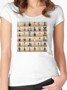 Buffy - Mini Monsters  Variant  Women's Fitted Scoop T-Shirt