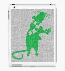 Hyper colour rat iPad Case/Skin