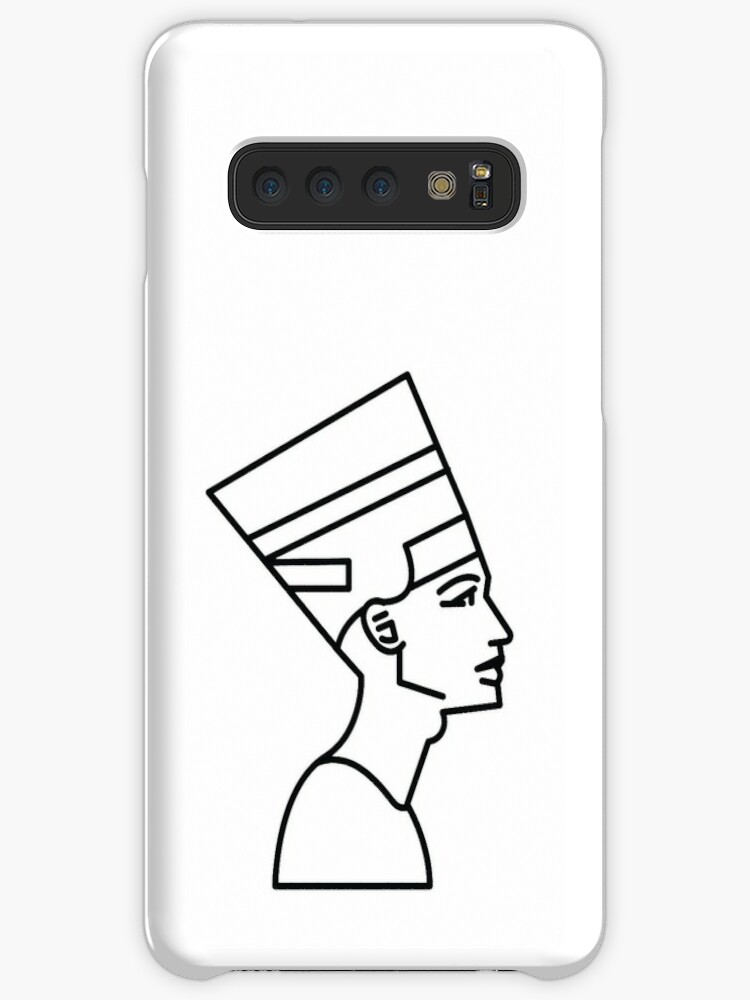 'Ancient Egyptian Queen Nefertiti' Case/Skin for Samsung Galaxy by  CarterCooper
