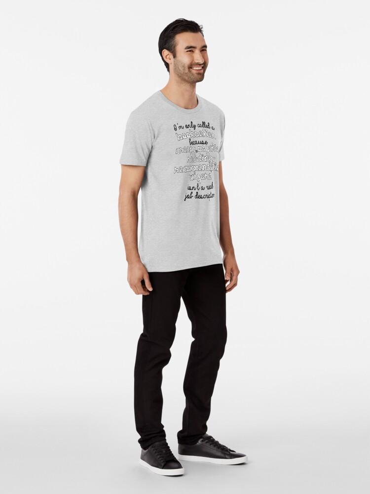 Vista alternativa de Camiseta premium Librería en Name Only
