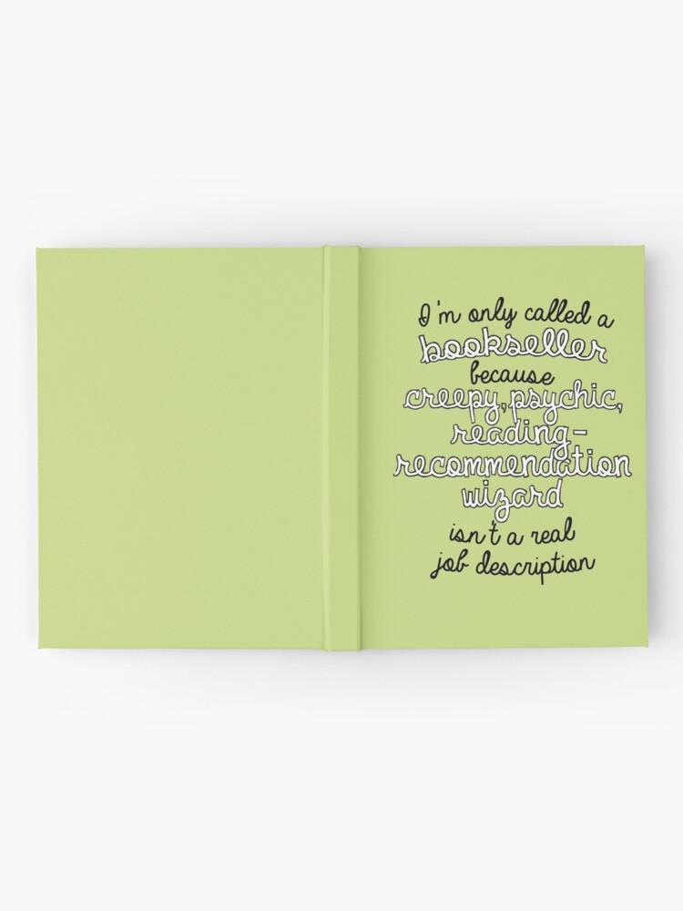 Vista alternativa de Cuaderno de tapa dura Librería en Name Only