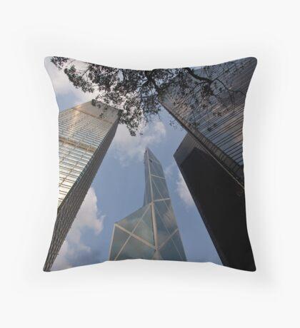 Bank of China Throw Pillow
