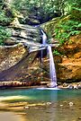 Hocking Hills Lower Falls by Bill Wetmore