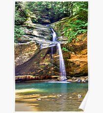 Hocking Hills Lower Falls Poster