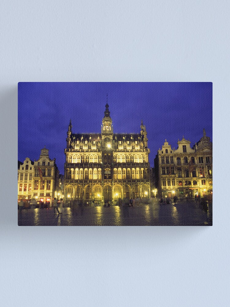 Alternate view of Belgium. Brussels. Grand Place. Canvas Print